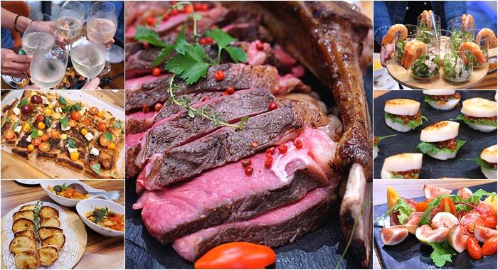 宜蘭私廚-北歐餐桌到你家 專業私廚精湛演出  異國風味餐點新鮮上桌 別處吃不到~Villa V  特別訂製晚餐【宜蘭外燴。派對。烤肉 Party的好選擇】 @紫色微笑 Ben&Jean 饗樂生活