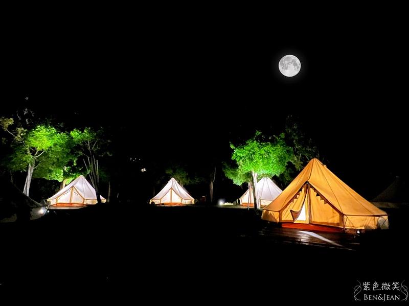 新竹露營推薦》愛上喜翁 高級帳篷免裝備豪華露營 一泊四食 一日四季 充份沉浸大自然的環境中 @紫色微笑 Ben&Jean 饗樂生活