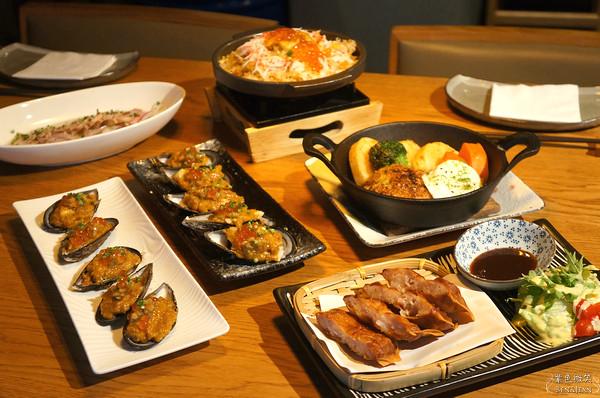 ▋台北餐廳 ▋酒食廚房~氣氛高雅的和風小酒館 @紫色微笑 Ben&Jean 饗樂生活