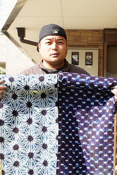 ▋四國/瀨戶內國際藝術季▋被譽為Japan blue日本藍的德島藍染~矢野藍游的藍染工藝 @紫色微笑 Ben&Jean 饗樂生活