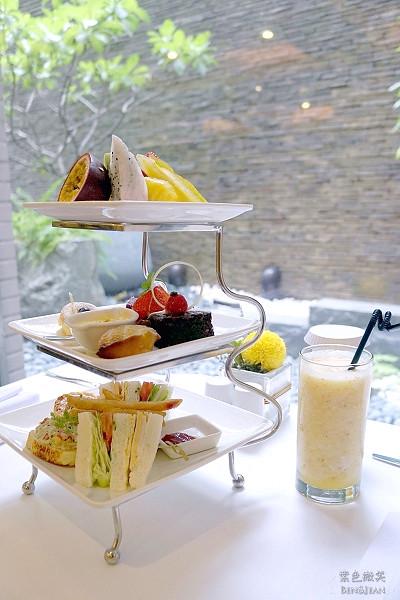 北投大地酒店▋歡喜廳-精緻的英式下午茶+法式浪漫晚餐 @紫色微笑 Ben&Jean 饗樂生活
