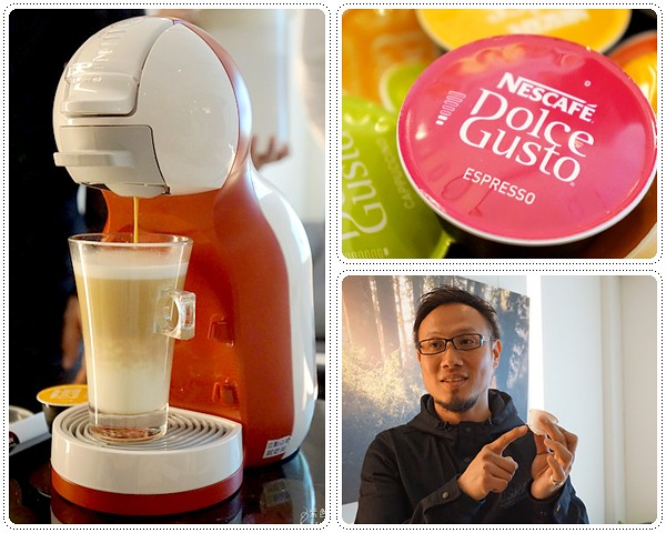 Nescafe Dolce Gusto ( mini me 膠囊咖啡機)~Gabee咖啡大師林東源與 mini me 的相遇 @紫色微笑 Ben&Jean 饗樂生活