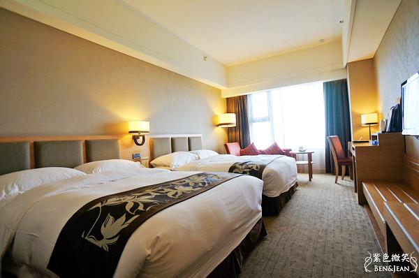花蓮福容大飯店▋花蓮市~精緻舒適的房間及豐盛的早餐篇 @紫色微笑 Ben&Jean 饗樂生活