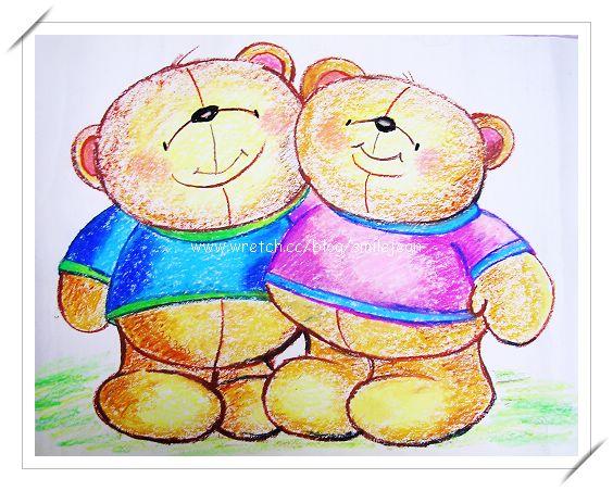 [繪畫] 南陽義學卡通班-永遠的朋友與巧克力熊 @紫色微笑 Ben&Jean 饗樂生活