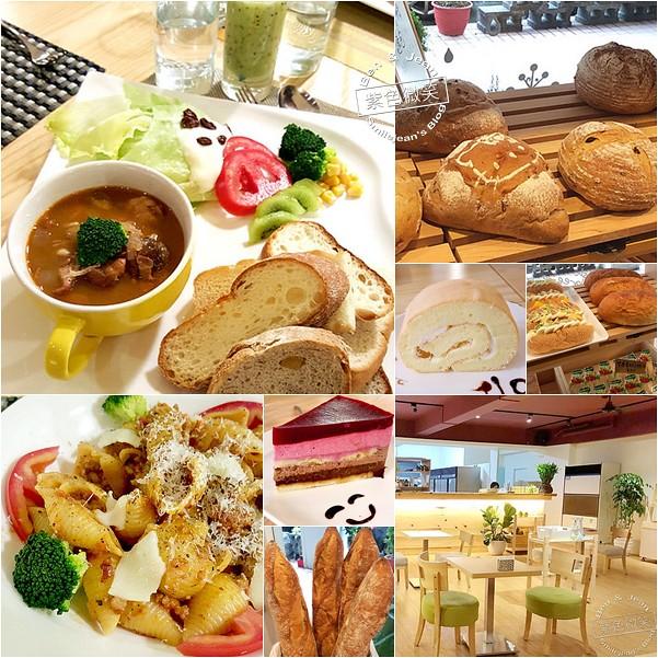 原麥森林▋宜蘭羅東~標榜天然、原味,結合麵包及下午茶簡餐的好吃的麵包烘焙坊 @紫色微笑 Ben&Jean 饗樂生活