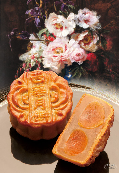 西華飯店月餅(怡園極致手工月餅) 精緻絕美的木盒與極致華麗的美味,送禮自用兩相宜 @紫色微笑 Ben&Jean 饗樂生活