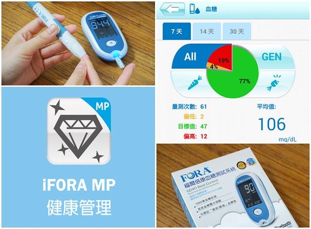 福爾倍康FORA血糖機-無線藍芽傳輸、血糖記錄上雲端,手機app血糖好管理又方便,子女遠在外地也可以幫忙監控老人家的健康 @紫色微笑 Ben&Jean 饗樂生活
