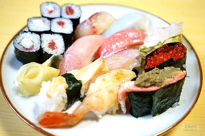 壽司榮▋富山魚津~魚津市的老店,CP值超高! 人人都享受的起的美味 @紫色微笑 Ben&Jean 饗樂生活