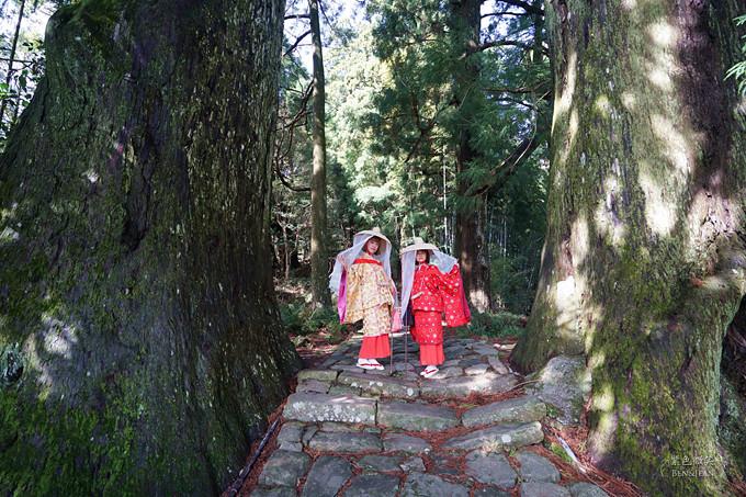 熊野古道.和歌山自駕遊▋身著平安時代服飾暢遊世界唯二被登錄文化遺產參拜古道 @紫色微笑 Ben&Jean 饗樂生活