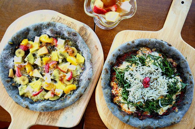 カフェ・ド・マンマ (Cafe de Manma)和歌山自駕遊▋面對無敵海景、享受美味可口又黑嚕嚕的紀州備長炭披薩 @紫色微笑 Ben&Jean 饗樂生活