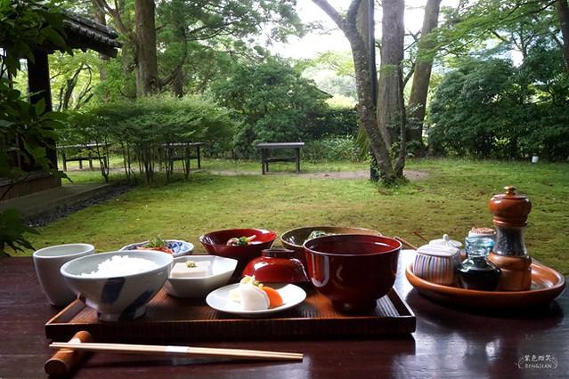 日本九州大分縣▋湯の岳庵~湯布院金鱗湖畔主推山家料理好餐廳 @紫色微笑 Ben&Jean 饗樂生活
