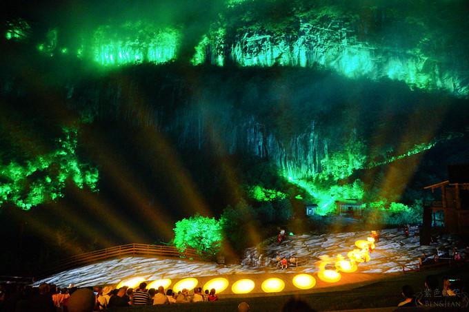 印象武隆.重慶旅遊推薦▋以天地為帳山水為屏幕,感動人心的史詩級的表演 @紫色微笑 Ben&Jean 饗樂生活