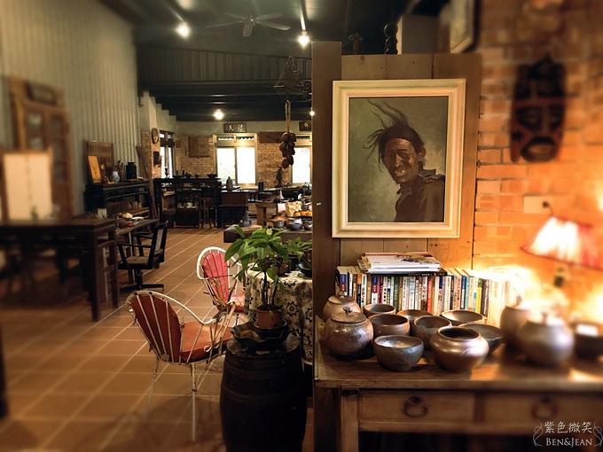 安棠德木屋Andante▋花蓮市-花蓮文創園區裡的百年歷史建築日式老屋及復古工業風餐廳~緩慢是為了享受慢活悠閒氛圍 @紫色微笑 Ben&Jean 饗樂生活