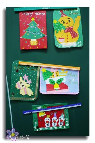[DIY]2006聖誕卡片 @紫色微笑 Ben&Jean 饗樂生活