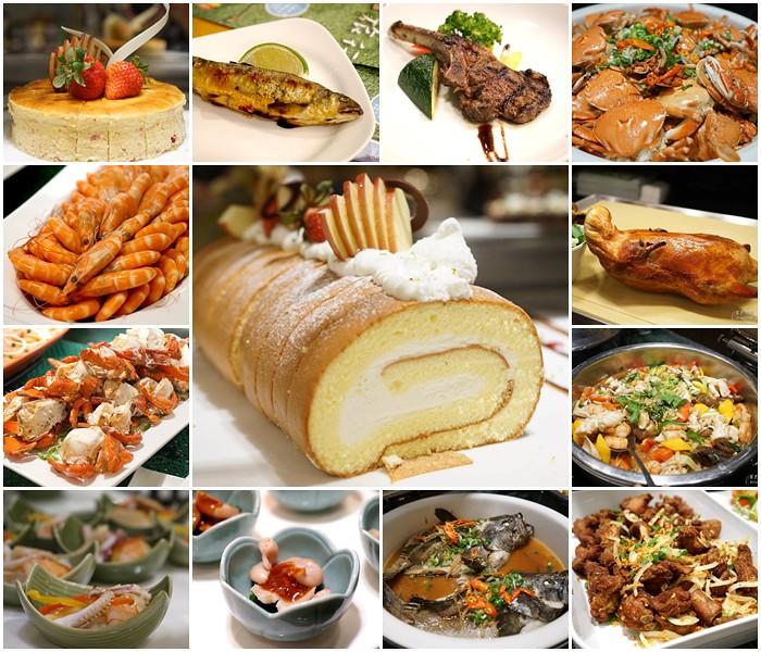 台中餐廳▋長榮桂冠酒店buffet ~小而美的自助餐廳,菜色種類多元,現點現做的餐點新鮮好吃 @紫色微笑 Ben&Jean 饗樂生活
