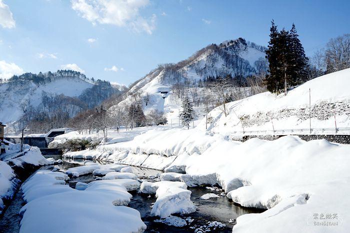 肘折溫泉鄉巡禮 ▋日本山形~開湯千年的溫泉、冬季銀白世界美的超夢幻,有遺世獨立的美感 @紫色微笑 Ben&Jean 饗樂生活