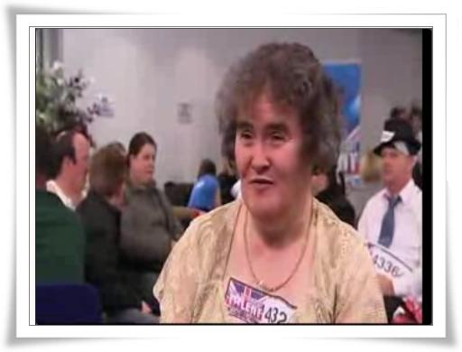 蘇珊.波伊爾(Susan Boyle)-另一顆蒙塵的珍珠 @紫色微笑 Ben&Jean 饗樂生活