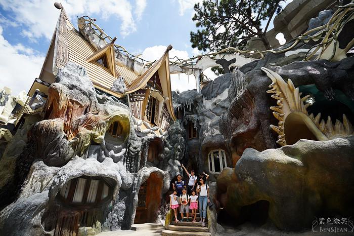 瘋狂屋Crazy House~天馬行空的創意,奇幻的謎樣氣氛,超越夢境的奇幻世界,「世界十大離奇建築」與「一生必住一次的旅館」令人驚喜萬分(越南.大勒) @紫色微笑 Ben&Jean 饗樂生活