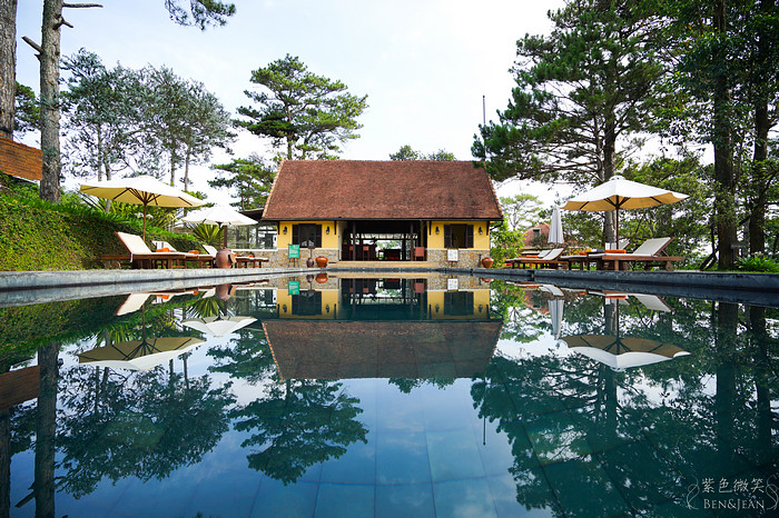 越南大叻▋大勒安娜曼德拉別墅度假村~純正歐式別墅,讓人有置身法國的浪漫感覺,也是越南的避暑聖地 @紫色微笑 Ben&Jean 饗樂生活