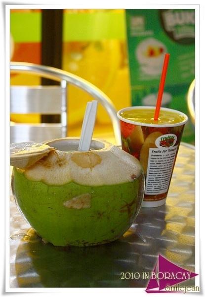 [長灘島自助旅行] fruitas果汁店 和 smoke餐廳 @紫色微笑 Ben&Jean 饗樂生活