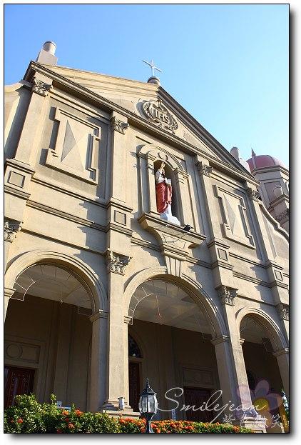 [菲律賓]馬尼拉Mall of Asia 旁的教堂 @紫色微笑 Ben&Jean 饗樂生活