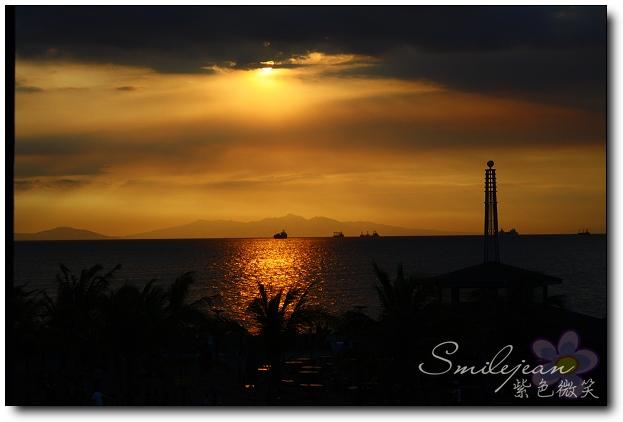 [菲律賓]馬尼拉的落日大道夕陽 @紫色微笑 Ben&Jean 饗樂生活