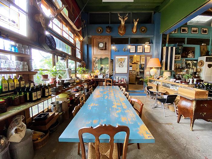 【穀倉咖啡 】沒有「艾蜜莉在巴黎」的時尚與奢華,但卻有充滿歲月感的濃濃法式雜貨風情,一周只營業五六日三天 宜蘭美食推薦 @紫色微笑 Ben&Jean 饗樂生活