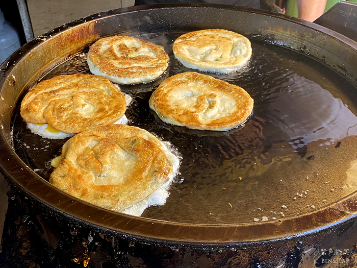 彭蔥油餅》宜蘭東門夜市必吃美食 宜蘭高人氣美食推薦 @紫色微笑 Ben&Jean 饗樂生活