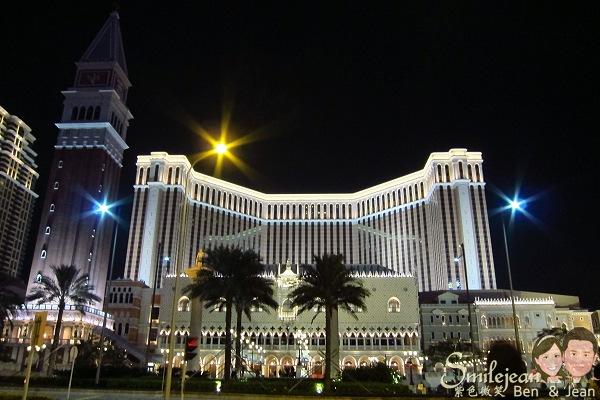 [澳門景點]威尼斯人夜酒店~愈夜愈美麗 @紫色微笑 Ben&Jean 饗樂生活