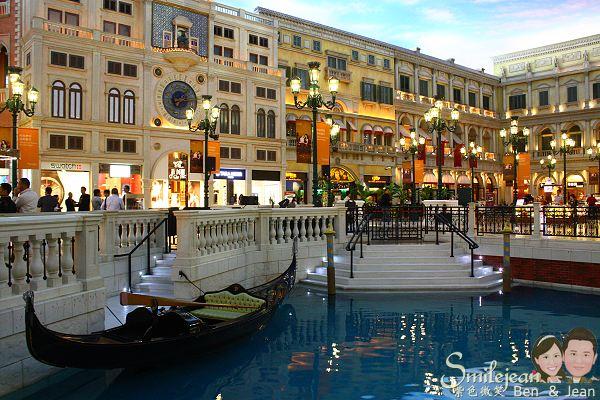 [澳門景點]威尼斯人大運河購物中心 @紫色微笑 Ben&Jean 饗樂生活