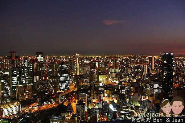 ▋日本大阪▋梅田 空中庭園展望台~俯看大阪浪漫夜景的好地方 @紫色微笑 Ben&Jean 饗樂生活