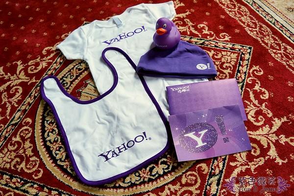 ▋奇摩摩人▋YaHoo寶寶的禮物~來自奇摩辦公室的祝福 @紫色微笑 Ben&Jean 饗樂生活