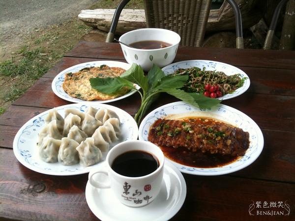 ▋台南美食▋關子嶺溫泉.老家咖啡~咖啡入菜、經典難忘 @紫色微笑 Ben&Jean 饗樂生活