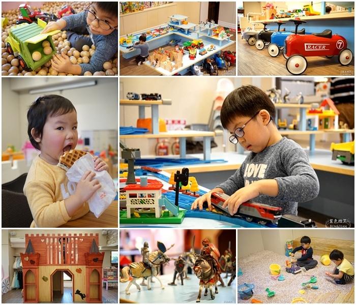 童遊城堡館▋新北市新莊區親子室內遊戲樂園~明亮舒適的親子空間、精緻可愛的玩具,還有佛心價的餐點<文末抽獎> @紫色微笑 Ben&amp;Jean 饗樂生活